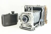 Graflex Speed Graphic 2¼ x 3¼ Thornton Shutter Body w/Tessar 105mm F3.5 #2267