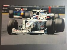 1998 Rubens Barrichello's Stewart Racing Texaco F1 Print Picture Poster RARE!!