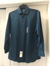 BNWT Van Heusen Dress Shirt LS 15.5 32/33 Jadite Unique Color Flex Shirt $55