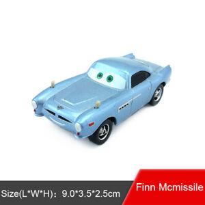 Disney Pixar Cars 2 Finn McMissile Diecast Toy Model Car 1:55 Loose Gift