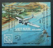 Vietnam World Stamp Exhibition Hamburg'84 1984 Aviation Airplane (ms) MNH