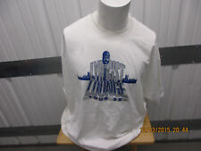 Vintage Hanes Rawkus Lyrcist Lounge Tour 1998 2Xl White Shirt W/ Tour Dates New