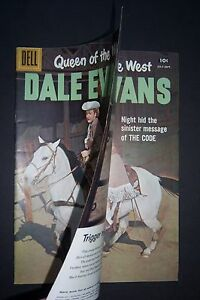 Queen of the West DALE EVANS #16, 1957, DOUBLE COVER, Dell Comics