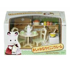 Epoch Sylvanian Families Furniture Stylish Dining Room Set Doll Accessory Japan