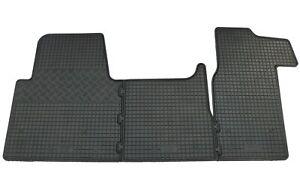 Gummifußmatten für Opel Movano + Renault Master 3 Gummimatten Fußmatten Matten