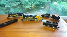 Assorted Lot of 4 HO Scale Train Engines  For Parts or Repair.
