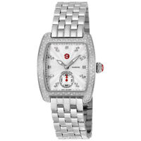 Michele Urban Mini Diamond Dial Steel MWW02A000508 29mm Ladies Watch