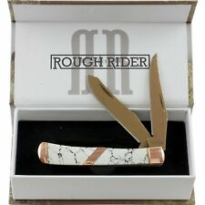 Rough Rider Copperstone Stone Trapper Pocket Knife RR1527 2 Folding Blades