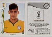 FIFA WC BRAZIL 2014 # 48 Neymar JR. rookie Brazil , Panini   MINT