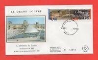 FDC - PARIS - Le Grand Louvre - Pyramide du Louvre   (296)