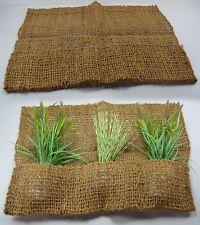 Pflanztasche aus Kokos mit 3 Taschen 75 x 100 cm Teichfolie Pflanzhilfe Teich