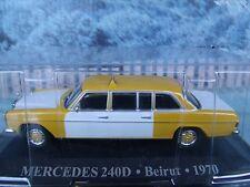 1/43 Magazine Series Altaya Mercedes 240D Beirut 1970