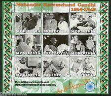 Mordovia 2001 Mahatma Gandhi of India Nehru Tagore Patel Bose M/s MNH # 15132