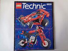 LEGO Instruction Notice TECHNIC Dune Blaster (8829)