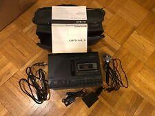 Optimus/Radioshack Ctr-117, Desktop Cassette Recorder with Voice Activation