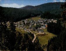 GERODLSGRÜN Frankenwald Bayern Totalansicht auf Ortsteil Silberstein 1985 gel.