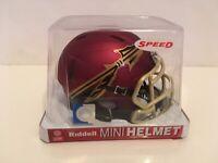 FLORIDA STATE GARNET Riddell NCAA Football Replica Revolution SPEED Mini Helmet