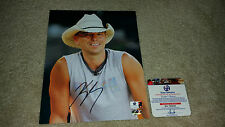 Kenny Chesney signed autograph 8x10 Country