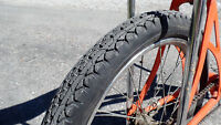 """New Fat 20 x 2.125"""" Gripper Slick Bicycle TIRE for Banana Seat Muscle Bikes"""