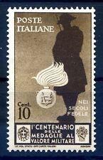 REGNO 1934 - MEDAGLIE  Cent. 10   NUOVO **
