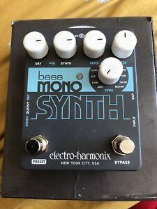 ELECTRO-HARMONIX MONO BASS MICRO SYNTH. Boxed, No Power Supply