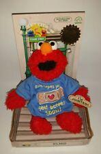 Applause ELMO Classic Sesame Street Jointed Plush Poseable Tshirt - 2000 - RARE
