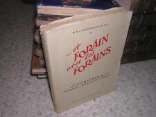 1950.et forain avec les forains : le père Haguenin / Letourneulx