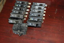 Square D Qob style 20A, Lot Of 13 20A breakers Used