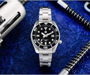 SAN MARTIN SN079-G SUMO AUTOMATIC DIVE WATCH *NH35A* *UK SELLER*
