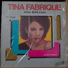 "TINA FABRIQUE A LIVE WITH LOVE 12"" SINGLE US PRESS LP"