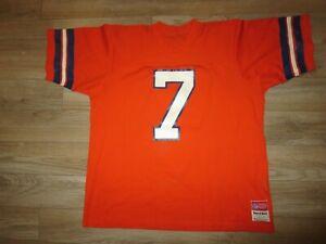 John Elway #7 Denver Broncos MacGregor Sand-Knit NFL Jersey XL mens Vintage