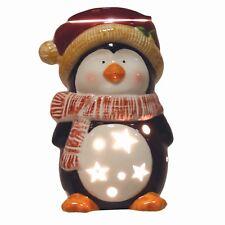 Aromatize 18cm Christmas Electric Wax Melt/Oil Burner - Penguin