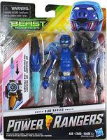"Power Rangers Beast Morphers ~ 6"" BLUE RANGER ACTION FIGURE ~ Hasbro"