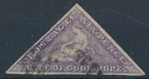 [56184] Cape good Hope 1864 Very good Used Very Fine stamp $700