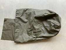 New listing Swiss Military Surplus Laundry / Dry Bag sack / rubberized Od drawstring