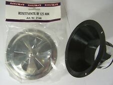 """SS Flush Mount Forced Air Adjustable Air Vent for 2-1/2"""" Hose"""