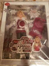 DISNEY Hannah Montana Holiday Singing Doll POP STAR 2008 NRFB JAKKS BARBIE LOOK