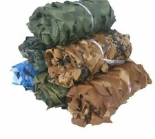 Blue Green Desert Camouflage Nets Camo Netting Without Edge Binding Sun Shelter
