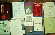 Navy & Usaf 1969-77 Documents Guides Madcap Airman Survival Diving Aerial Photog