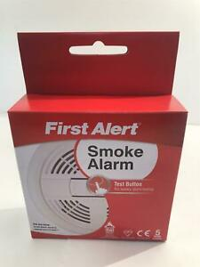 First Alert SA200 Ionisation Smoke Alarm with Test Button