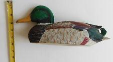 Mallard Duck wooden Northwest Artisans 12 inches Decoy Decoration