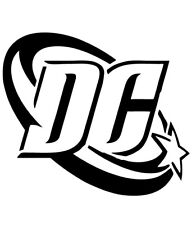 (1) DC Comics Logo 4 Inch Vinyl Decal Sticker New! Multiple Colors Available!