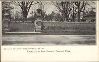 Brooklyn Eagle Postcard Series #162 c1905 Postcard PROSPECT PARK ROSE GARDEN