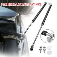 2x Rear Gas Shock Hood Shock Strut Damper Lift Support For Skoda Octavia A7 MK3