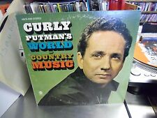 Curly Putman World of Country Music vinyl LP ABC Records VG+
