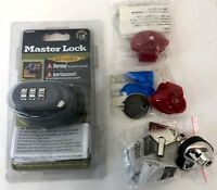 New Lot of 4 Master Lock Gunlock DAC & Generic Gun Firearm Safety Trigger Locks