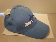 Guy Harvey Blue Hat Elastic Band M/L Medium Large - Light Blue