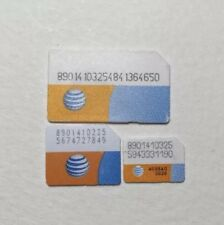 1 PCS AT&T iPhone 3 3GS Test Bypassing activation screen standard SIM CARD