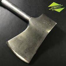 VINTAGE RUBBER HANDEL HATCHET AXE MADE IN JAPAN WOOD CAMPING CHOPPING HAND TOOL