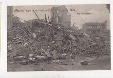 Messina Dopo Il Terremoto Del 28 Dicembre 1908 Italy Postcard 915a